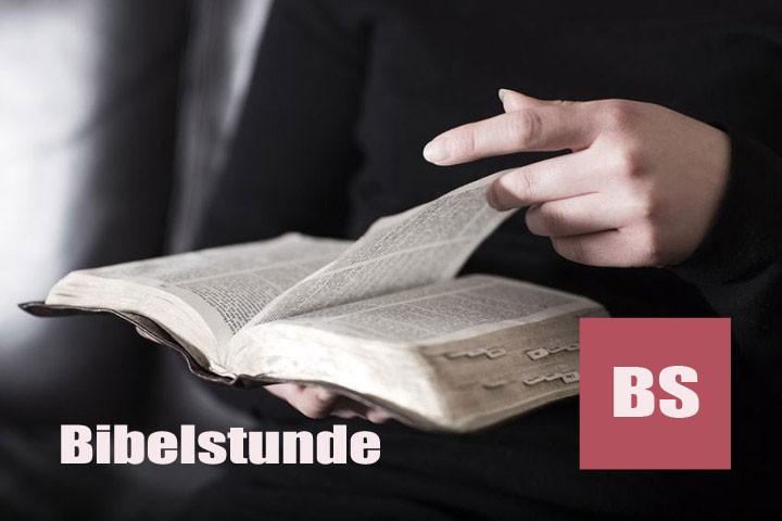 Bibelstunde 15:00 Uhr