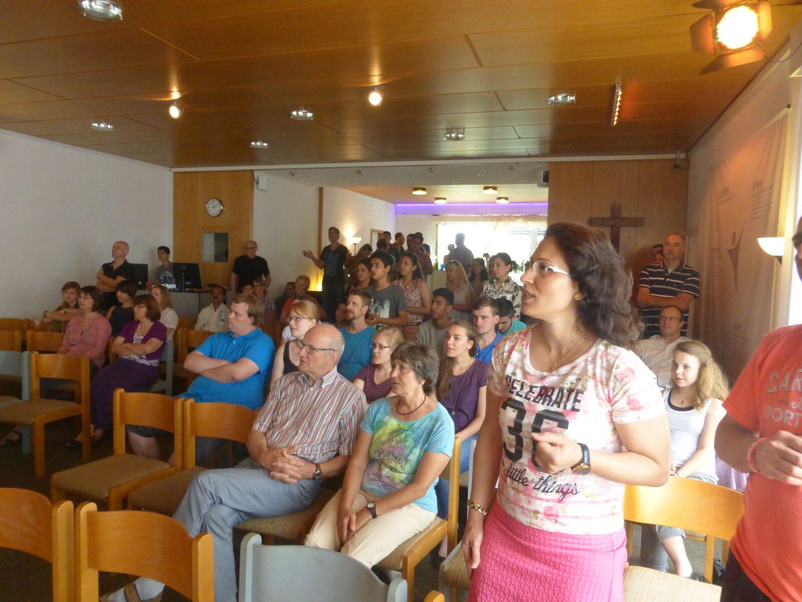 Evangelische Seestraßengemeinde meets Iranische Gemeinde